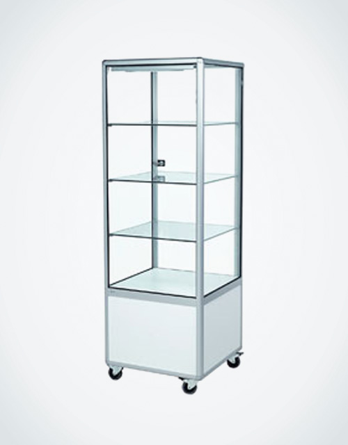 Ordinaire Tall Glass Tower Cabinet Premium